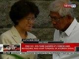 QRT: DND Sec. Voltaire Gazmin at Chinese Amb. Ma Keoing, nag-udap tungkol sa Ayungin Shoal