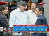 BP: Sen. Tito Sotto, magbibitiw raw bilang senate majority floor leader