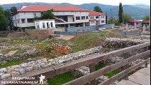 Ohrid Gezilecek Yerler - Pantelejmon Kilisesi Dışı ve Erken Dönem Hristiyan Bazilikası (2)