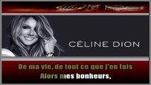Céline Dion - Je ne vous oublie pas KARAOKE / INSTRUMENTAL