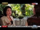 Senator Loren Legarda describes her ideal man to Powerhouse host Mel Tiangco