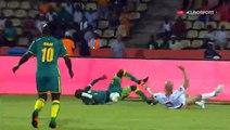 Sadio Mané Penalty Goal HD - Tunisia 0-1 Senegal 15.01.2017
