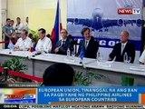 NTG: European Union, tinanggal na ang ban sa pagbiyahe ng PAL sa European countries