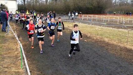 Championnats de l'Aisne de cross country à Quessy