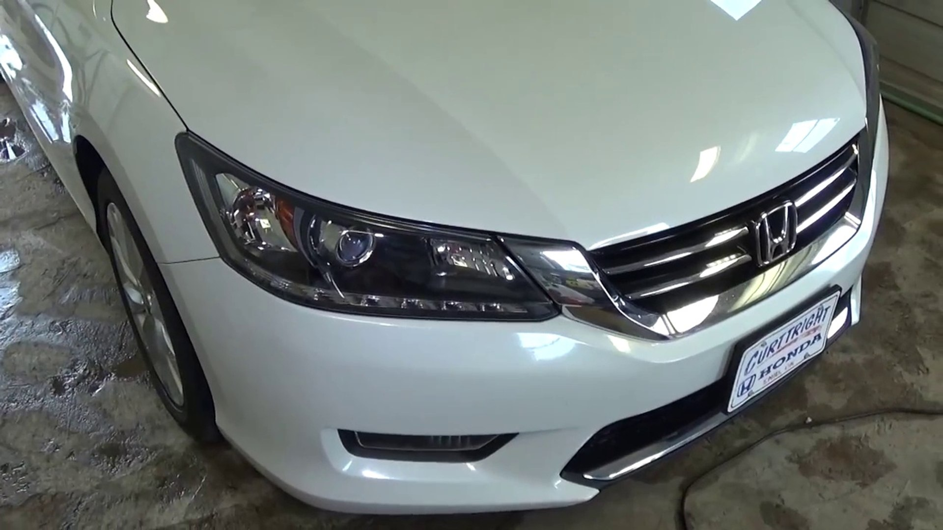 Honda Accord Headlight Bulb And Front Turn Signal Bulb Replacement 2013 2014 2015 2016