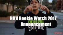 """HHV Exclusive: Carlos Cureno (aka DJ Charliee) and Hip Hop Vibe present """"HHV Rookie Watch 2017"""" spotlighting new artists to look out for"""