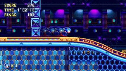Sonic Mania : Annonce du jeu sur Switch