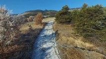 Hautes-Alpes : Balade dans les vignes de Remollon by drone