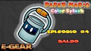Paper Mario Color Splash Ep 4 Caverna indigo Indigo overgrou