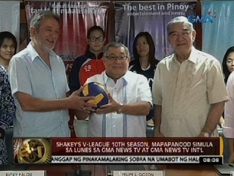 Shakey's V-League, mapapanood simula sa Lunes sa GMA News TV at GMA News TV International