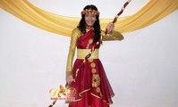 NUEVO Vestuario para Danza Cristiana / Praise Dance Costume (Demos con las Danzas).