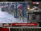 Baha sa ilang lugar sa Quezon City, mas mababaw kumpara sa baha noong Bagyong Ondoy