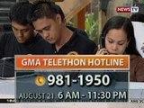 BT: GMA Telethon Hotline: 981-1950, bukas pa rin para sa mga gustong magbigay ng tulong
