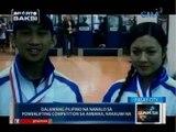 Saksi: Dalawang pilipino na nanalo sa powerlifting competition sa Amerika, nakauwi na