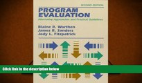 Audiobook  Program Evaluation: Alternative Approaches and Practical Guidelines (2nd Edition) Full