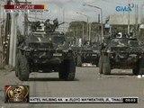24 Oras:  Mga rutang posibleng daanan ng mga rebelde, bantay-sarado ng mga otoridad