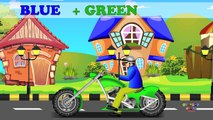 Learning Colors Street Vehicles   Learn Colours Cars & Trucks, Hot Wheels トミカ   Colors Mixing