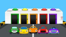 Learn Colors Cars Video For Children Kids And Toddlers | Animated Cars Cartoons For Babies