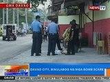 NTG: Davao City, binulabog ng mga bomb scare