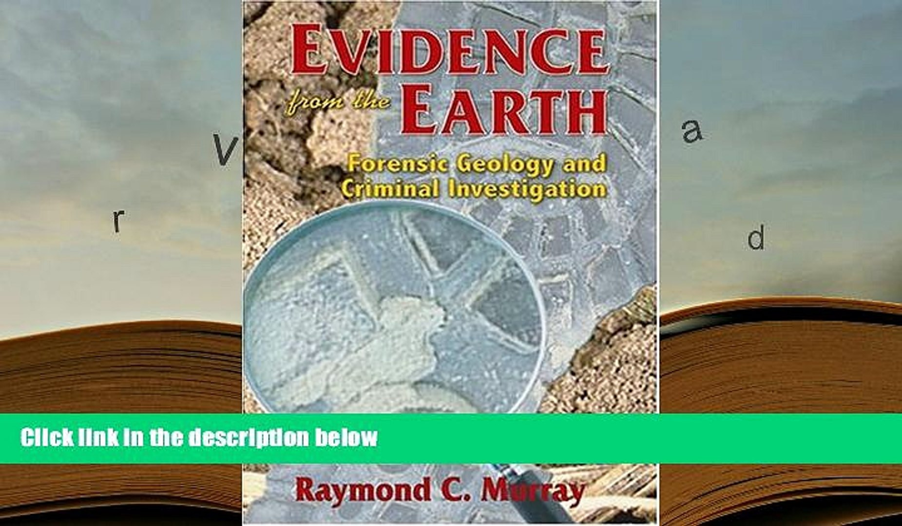 Pdf Free Download Evidence From The Earth Forensic Geology And Criminal Investigation For Ipad Video Dailymotion