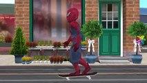 Finger Family Yellow Spiderman Vs Spiderman | Nursery Rhymes Yellow Hulk Vs Yellow Spiderman