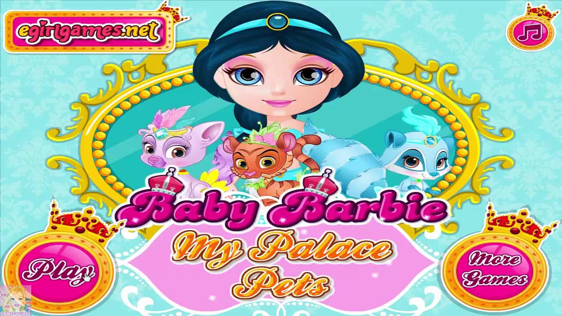 Baby Barbie My Palace Pets Princess Barbie Palace Pets Care Game for Kids