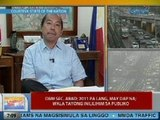 UB: DBM Sec. Abad: 2011 pa lang, may DAP na; wala tayong inililihim sa publiko