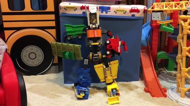 Trains-Formers Super Thomas Voltron Toy Lego - Thomas Minis Legendary Defender - Transformer Robot
