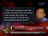 Posibleng kaugnayan ni dating FG Mike Arroyo sa Malampaya fund scam, tinitingnan ng DOJ