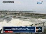 Saksi: Rubber gates ng Bustos Dam, pinangangambahang bumigay dahil sa kalumaan