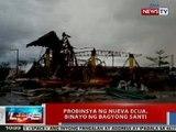 NTVL: Probinsya ng Nueva Ecija, binayo ng Bagyong Santi