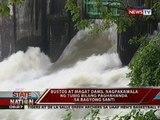 SONA: Bustos at Magat Dams, nagpakawala ng tubig bilang paghahanda sa Bagyong Santi