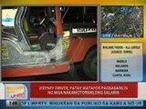 UB: Jeepney driver sa QC, patay matapos pagbabarilin ng mga nakamotorsiklong salarin