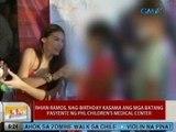 UB: Rhian Ramos, nag-birthday kasama ang mga batang pasyente ng PHL Children's Medical Center