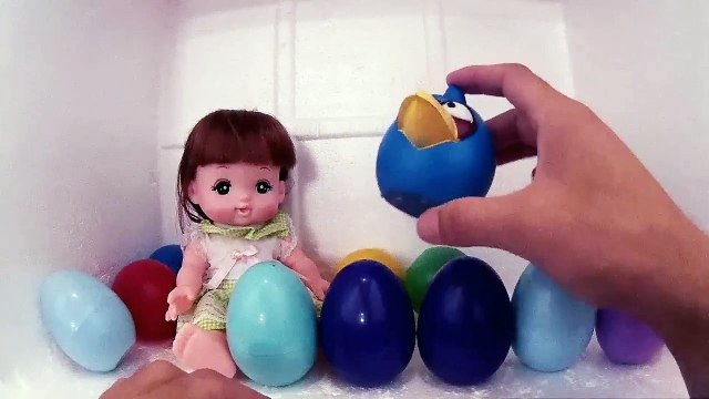 Mell Chan Baby Girl Playing Surprise Eggs Fun Toys Collection BABY DOLL BABY DOLL