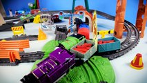 Funny ABC with Thomas and Friends - Crashes, Collisions - Enjoy learning ABC with Kids