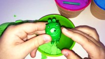 Ice Cream Kinetic Sand Smiley Face Surprise Cups Angry Birds Learn Colors for Kids