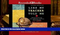 PDF Lies My Teacher Told Me: Everything Your American History Textbook Got Wrong Full Book