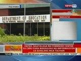 DepEd, nagtalaga ng command center sa Cebu para makakuha ng impormasyon sa kanilang mga tauhan