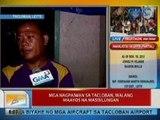 UB: Mga nagpaiwan sa Tacloban, walang maayos na masisilungan
