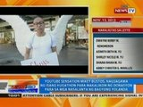 NTG: Mikey Bustos, nagsagawa ng isang hugathon para makalikom ng donasyon