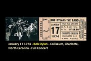 January 17 1974 - Bob Dylan - Coliseum, Charlotte, North Carolina - Full Part-2
