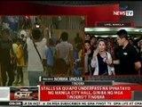 QRT: Stalls sa Quiapo underpass na ipinatayo ng Manila City Hall, giniba ng mga tindero't tindera