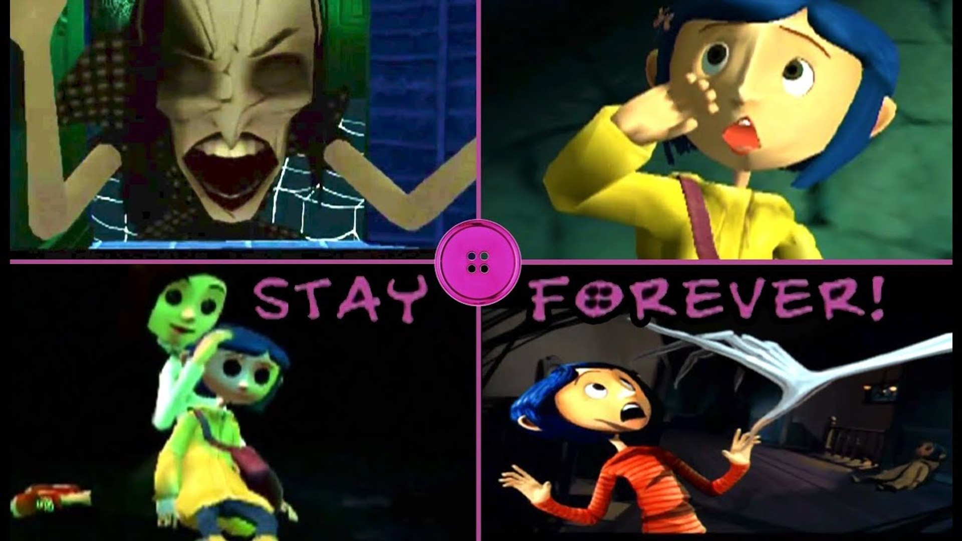 Coraline Game Over Fail Cutscenes Deaths Ps2 Wii Video Dailymotion