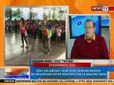 NTG: DOH, 2 taon nang iminumungkahi na magsayaw kaysa magpaputok sa Bagong Taon