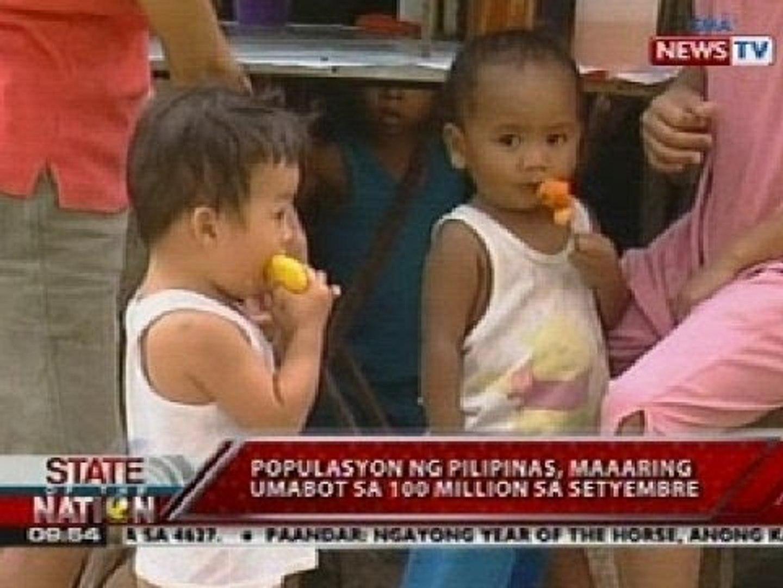 Populasyon ng pilipinas