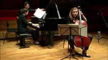 Benjamin Britten : Sonate pour violoncelle et piano op. 65 par le duo Adama