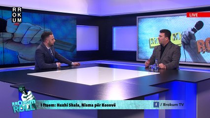 Rrokum Roll: Haxhi Shala, Nisma për Kosovë