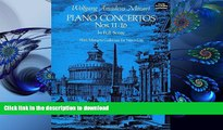 DOWNLOAD [PDF] Piano Concertos Nos. 11-16 in Full Score (Dover Music Scores) Wolfgang Amadeus