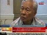 BT: Tuason, idinawit ang dating abugado ni Atty. Mike Arroyo sa Malampaya fund scam